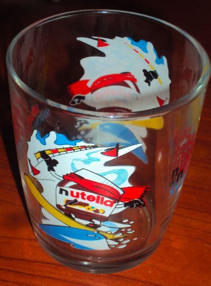 bicchieri da collezione bicchieri della nutella tutti da collezionare
