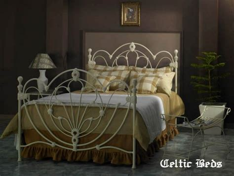 celtic wrought iron beds clifden bed detail