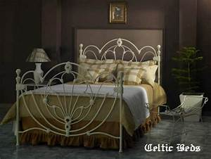 Celtic Wrought Iron Beds