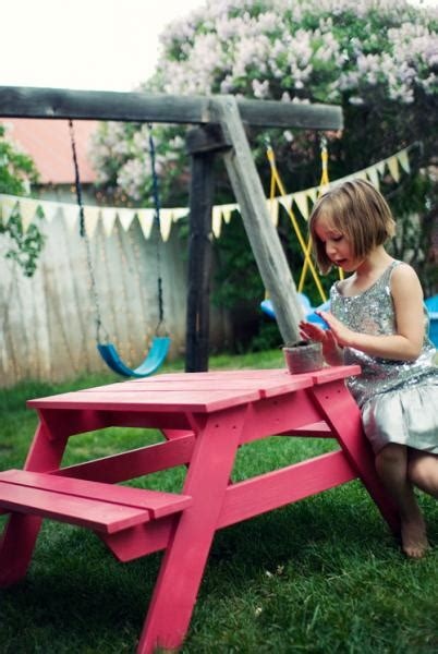 10 free picnic table plans 447 | Preschool Picnic Table