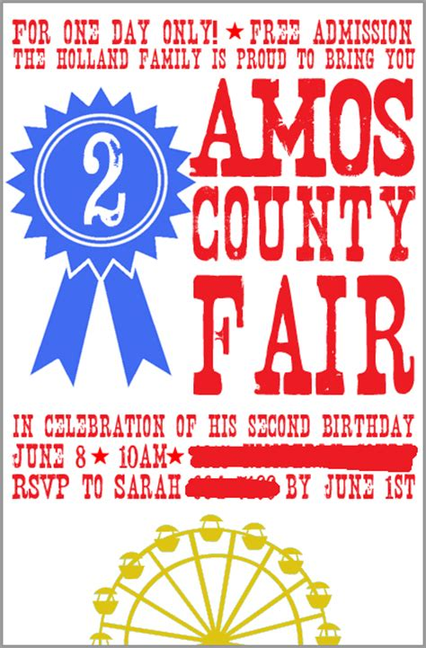 amos county fair project nursery