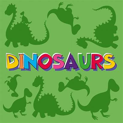 Word Dinosaurs Background Many Dinosaur Vector Vecteezy