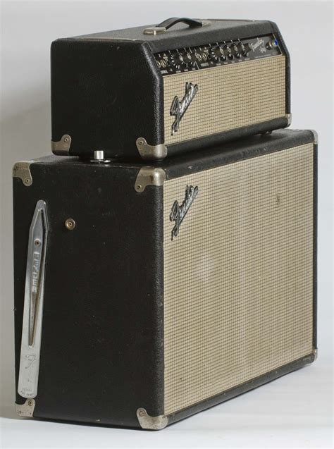 1965 fender tremolux w 2x10 cabinet stardust vintage