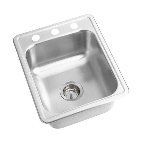 elkay kitchen sink elkay dayton drop in stainless steel 17 in 3 bar 3556