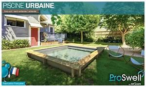piscine bois urbaine en kit proswell piscine centernet With terrasse en bois pour piscine hors sol 3 piscine hors sol bois urbaine proswell by procopi l 3 5 x