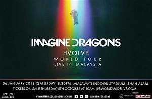 Imagine Dragons Live In Malaysia | PR Worldwide | Events Asia