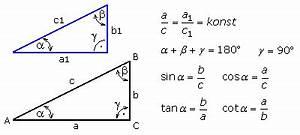 Rechtwinkliges Dreieck Berechnen Nur Eine Seite Gegeben : winkelfunktionen im rechtwinkligen dreieck ~ Themetempest.com Abrechnung