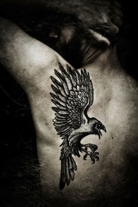 norse raven tattoos