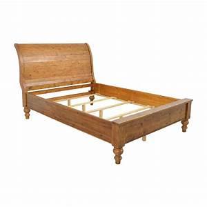 Slay Bed Frame - Size Mansfield Espresso Sleigh Platform