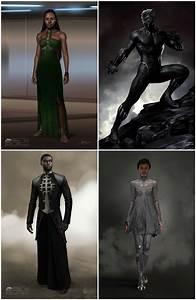 Black Panther Concept art. : marvelstudios