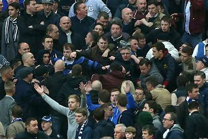 Millwall Fighting Wigan Fans Fa Cup Trouble