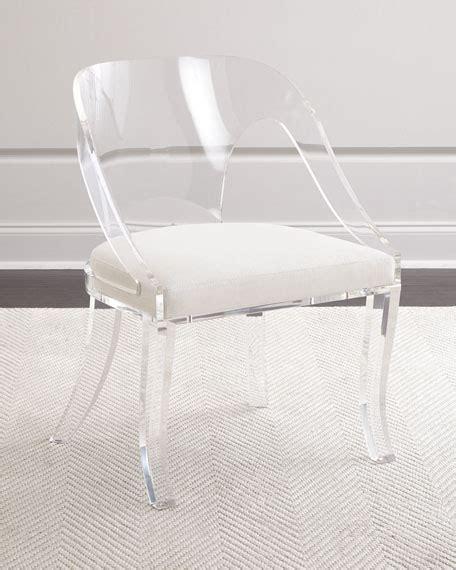 delilah   acrylic chair