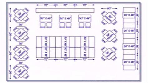 Restaurant Kitchen Measurements by Restaurant Floor Plan Measurements