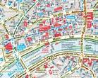 Frankfurt map - City map (Stadtplan Karte) of Frankfurt ...