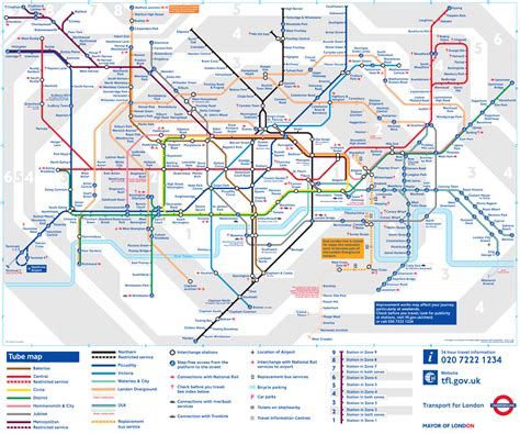 map  london underground tube pictures  london