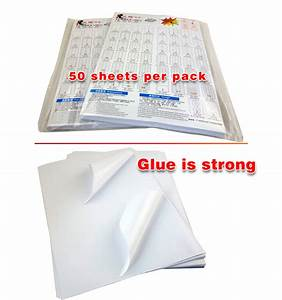 500 sheets 1000 stickers a4 letter shipping labels 2 per With letter size label sheets