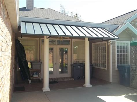 Metal Porch Awnings Large Dimensions