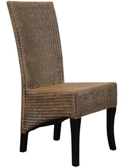 2 chaises restaurant en lloyd loom tresse siege hotel cafe