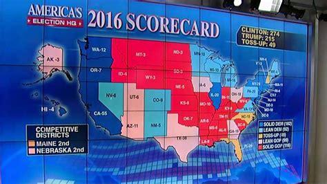 trump fox electoral map scorecard state donald election clinton 270 poll win flip prediction biden must foxnews edge vote hillary
