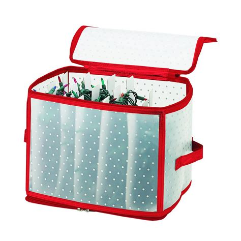 simplify christmas light organizer in red 9000 red the