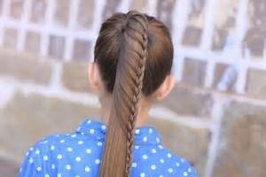 Lace Braided Ponytail Cute Hairstyles