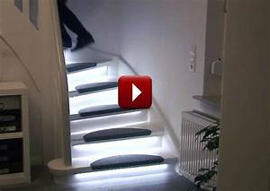 Automatic Stair Lighting Home Automation for Aging in Place