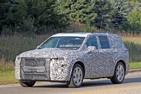 Cadillac New For 2020 by 2020 Cadillac Xt6 Spied With Seating For Seven