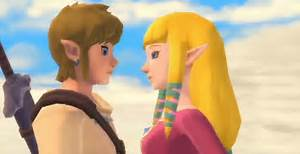 Zelda: Skyward Sword Link and Zelda In Love – K.I.S.S.I.N.G.