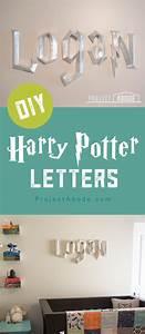 diy 3d harry potter letters harry potter letter harry With harry potter 3d letters