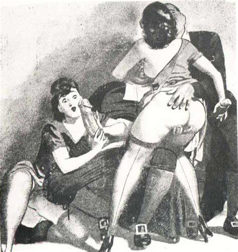 Vintage Erotic Cartoons Nude Galerie