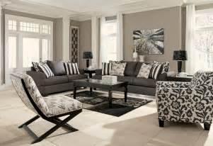 livingroom set buy levon charcoal living room set by signature design from www mmfurniture