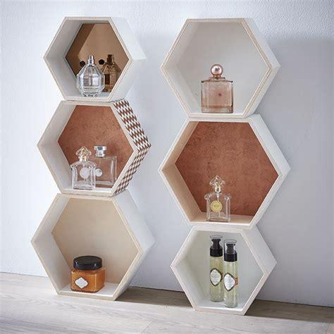 zodio cours de cuisine étagères hexagonales cuivre deco déco et