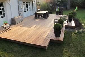 dtu 514 platelage exterieur bois norme terrasse With photo carrelage terrasse exterieur 7 prix dune terrasses au m2 bois beton composite