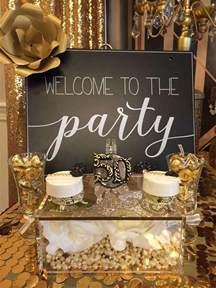shabby chic baby shower decorations 25 bästa gold party idéerna på glitter party