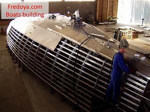 Building Aluminium Sailing Yacht Fredoya