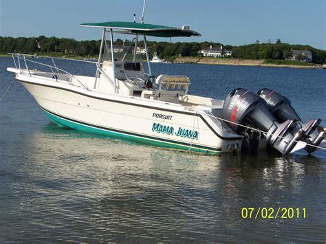 Pursuit Boats Center Console by Pursuit 2470 Center Console For Sale Year 2001 The