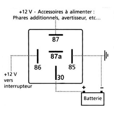 relais 5 broches 12v 20a altium