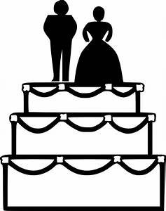 Wedding Cake Clip Art at Clker.com - vector clip art ...