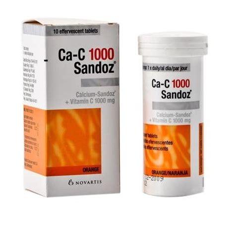 Amazon.com: Calcium Sandoz Effervescent Tablets 20 tablets