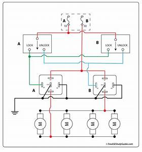 Diagram  Door Lock Circuit