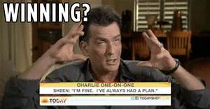 Winning Charlie Sheen GIF - Find & Share on GIPHY