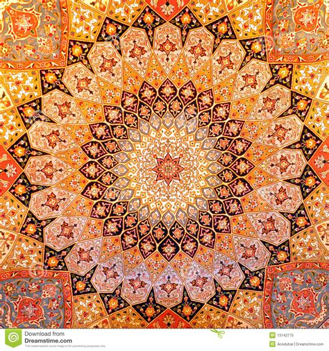 Persion Rug by Persian Carpet Design Stock Image Image Of Mosaic Design
