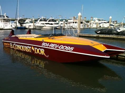 Boat Ride St Augustine by Speedy Gonzales Picture Of El Conquistador Speedboat