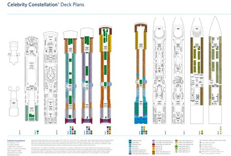 cruises deck plans constellation идём в круиз constellation с 02 01 17 по