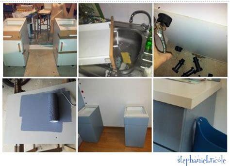 comment faire un bureau soi meme faire soi même un bureau avec des meubles de cuisine et un