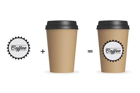 Paper Coffee Cup Mockup V1 by aivos   Design Bundles