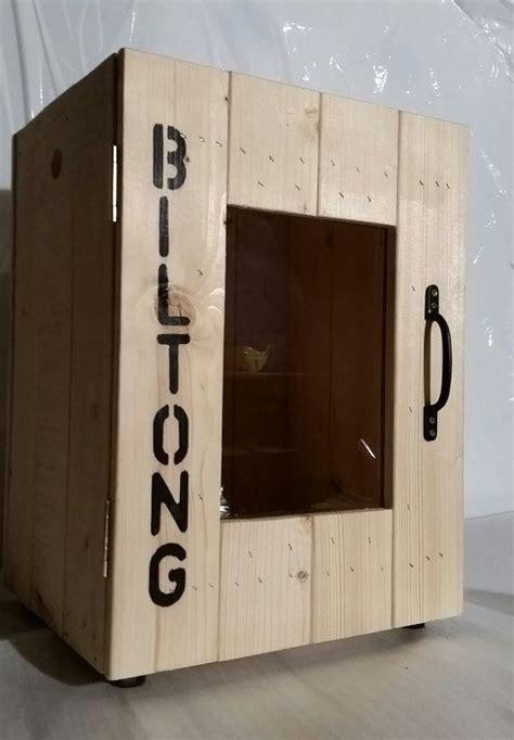 personalised rustic biltong box jerky maker