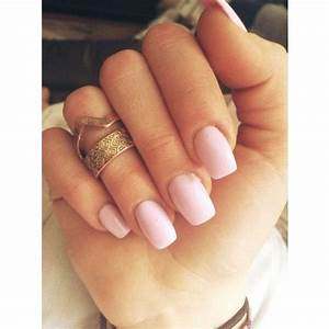 Light Pink Acrylic Nails Tumblr Www Pixshark Com Images Galleries With A Bite