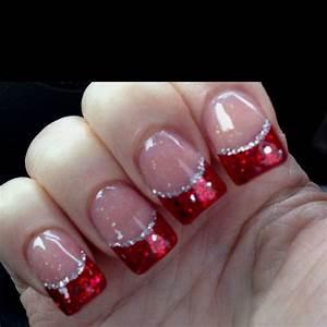 My Festive Red Nails | Tips, Tricks & DIY Ideas ...