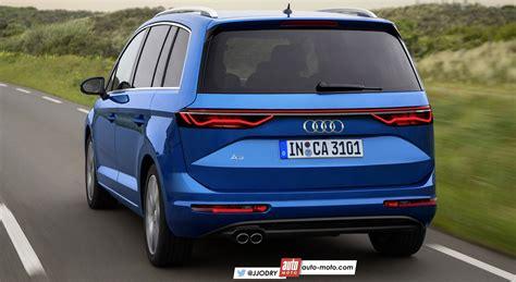 2018 Audi A3 Mpv (audi A2 Successor) Rendering